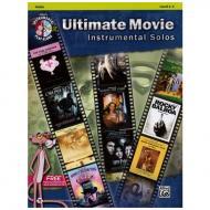 Ultimate Movie Instrumental Solos for Violin (+MP3-CD)