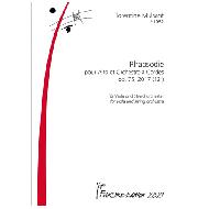 Mulsant, F.: Rhapsodie pour Alto et Orchestre à Cordes Op. 75