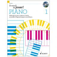 Heumann, H.-G.: À vous de jouer! PIANO Band 1 (+CD)