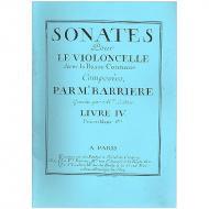 Barriere, J.-B.: Violoncellosonaten Band 4