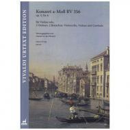 Vivaldi, A.: Violinkonzert Op. 3/6 RV 356 a-Moll – Partitur