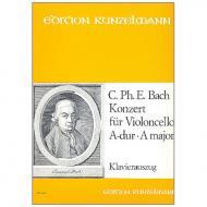 Bach, C. P. E.: Violoncellokonzert A-Dur