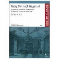 Wagenseil, G. C.: 6 Sonaten Band 4 Nr. 4 A-Dur