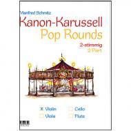 Schmitz, M.: Kanon-Karussell – Pop Rounds 3-4-stimmig (Violine)