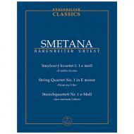 Smetana, B.: Streichquartett Nr. 1 e-Moll »Aus meinem Leben«