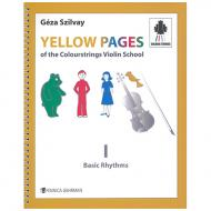 Yellow Pages Of the Colourstrings Violin School 1 – Basic Rhythms