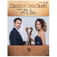 Martinelli, M. / Mancini, F.: Classical Cello Duets - Mr. & Mrs. Cello (+Online Audio)