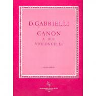 Gabrielli, D.: Canon a Due
