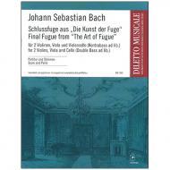 Bach, J. S.: Schlussfuge aus »Kunst der Fuge«