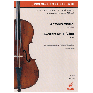 Vivaldi, A.: Konzert Nr. 1 RV 398 C-Dur