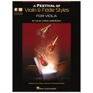 A Festival of Violin & Fiddle Styles for Viola (+Online Audio und Video)