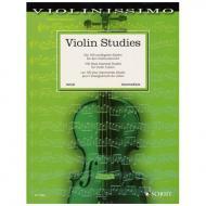Violin Studies – die 100 wichtigsten Etüden für den Violinunterricht
