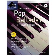 Gerlitz, C.: Schott Piano Lounge – Pop Ballads Band 1 (+Online Audio)