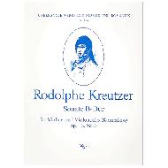 Kreutzer, R.: Sonate B-Dur op.16,3 für Violine und Violoncello (Kontrabass)