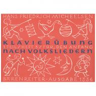 Micheelsen, H. F.: Klavierübung nach Volksliedern, Heft 3