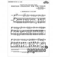 Mackay, N.: Position Changing For The Violin – Klavierbegleitung