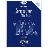 Kompendium für Violine – Band 10 (+CD)