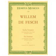 Fesch, W. d.: 6 Violinsonaten – Band 2