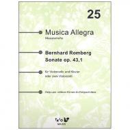 Romberg, B. H.: Sonate Op. 43/1