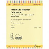 Küchler, F.: Concertino D-Dur Op.15