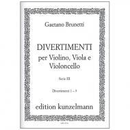 Brunetti, G.: Divertimenti 1-3