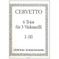 Cervetto, G.: 6 Trios Band 1 (Nr.1-3)