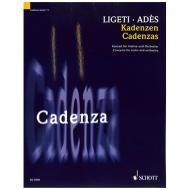 Ligeti, G./Adès, Th.: Kadenzen zum Violinkonzert