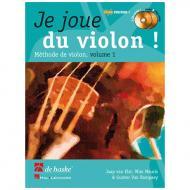Elst, J. v.: Je joue du violon ! Vol. 1 (+2 CDs)