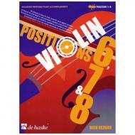 Dezaire, N.: Violin Positions 6-7-8 (+2 CDs)