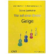 Steinkühler, S.: Vier auf einen Streich — Arbeitsblätter Violine