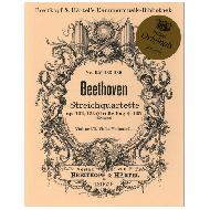 Beethoven, L.v.: Streichquartette Op. 132, 133 (Große Fuge), 135