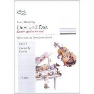 Kanefzky, F.: Dies und das - Komm spiel'n wir was! Band 1