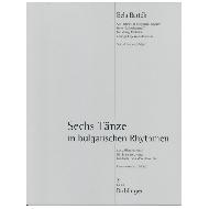 Bartók, B.: Sechs Tänze in bulgarischen Rhythmen – Stimmenset