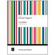 Paganini, N.: Cantabile D-Dur
