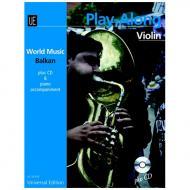 Mamudov, H.: Balkan Playalong Violin (+CD)
