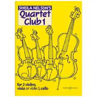 Nelson, S. M.: Quartet Club Vol. 1