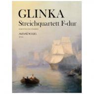 Glinka, M.: Streichquartett F-Dur