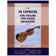 Rode, J.: 24 Caprices