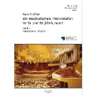 Ertelt, Th./Loesch, H. v. (Hg.): Geschichte der musikalischen Interpretation im 19. und 20. Jahrhundert – Band 2: Institutionen — Medien