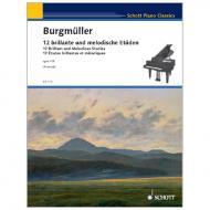 Burgmüller, F.: 12 brillante und melodische Etüden Op. 105