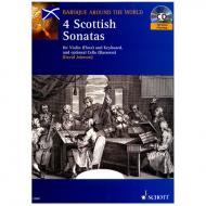 Johnson, D.: Vier schottische Sonaten (+ CD)
