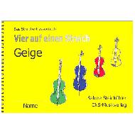 Steinkühler, S.: Vier auf einen Streich – Schülerheft Violine