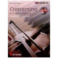 Küchler, F.: Concertino Op. 12 D-Dur (+CD)
