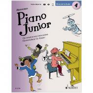 Heumann, H.-G.: Piano Junior – Klavierschule Band 4 (+Online Material)