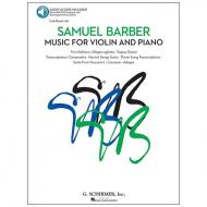 Barber, S.: Music for Violin and Piano (+Online Audio)
