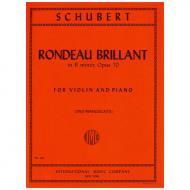 Schubert, F.: Rondo brillante Op. 70 h-Moll