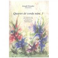 Teixidor, J.: Streichquartett Nr.3