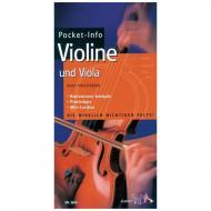 Pocket-Info Violine und Viola (H. Pinksterboer)