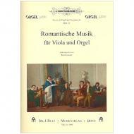 Romantische Musik für Viola und Orgel