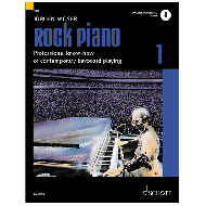 Moser, J.: Rock Piano Band 1 (+Online Audio)